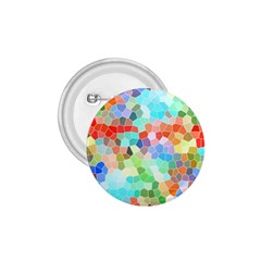 Colorful Mosaic  1 75  Buttons by designworld65
