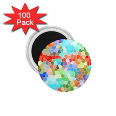 Colorful Mosaic  1.75  Magnets (100 pack)