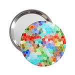 Colorful Mosaic  2.25  Handbag Mirrors
