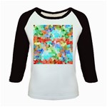 Colorful Mosaic  Kids Baseball Jerseys