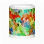 Colorful Mosaic  Night Luminous Mugs Center