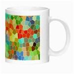 Colorful Mosaic  Night Luminous Mugs Right