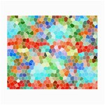Colorful Mosaic  Small Glasses Cloth