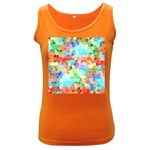 Colorful Mosaic  Women s Dark Tank Top