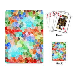 Colorful Mosaic  Playing Card by designworld65