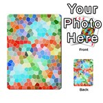 Colorful Mosaic  Playing Cards 54 Designs  Back
