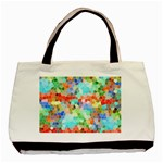 Colorful Mosaic  Basic Tote Bag Front