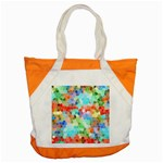 Colorful Mosaic  Accent Tote Bag Front