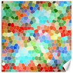 Colorful Mosaic  Canvas 12  x 12   12 x12 Canvas - 1
