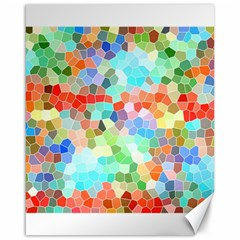 Colorful Mosaic  Canvas 16  X 20   by designworld65