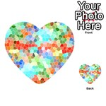 Colorful Mosaic  Playing Cards 54 (Heart)  Back