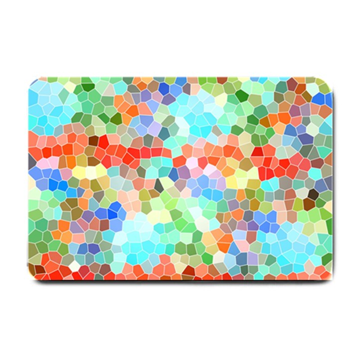 Colorful Mosaic  Small Doormat