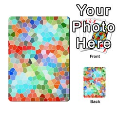 Colorful Mosaic  Multi Purpose Cards (rectangle)