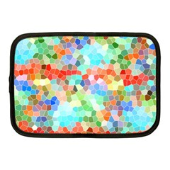 Colorful Mosaic  Netbook Case (medium)  by designworld65