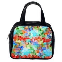 Colorful Mosaic  Classic Handbags (one Side) by designworld65