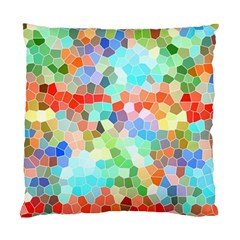 Colorful Mosaic  Standard Cushion Case (two Sides) by designworld65