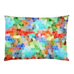 Colorful Mosaic  Pillow Case by designworld65