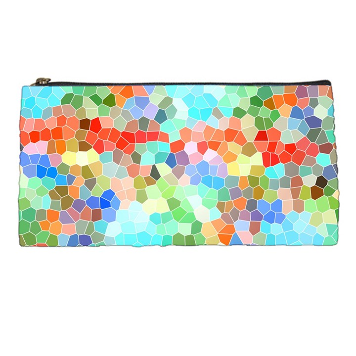 Colorful Mosaic  Pencil Cases