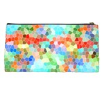 Colorful Mosaic  Pencil Cases Back