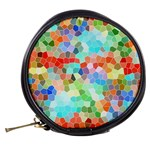 Colorful Mosaic  Mini Makeup Bags Back
