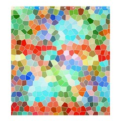 Colorful Mosaic  Shower Curtain 66  X 72  (large)  by designworld65