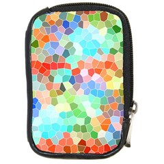 Colorful Mosaic  Compact Camera Cases by designworld65