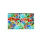 Colorful Mosaic  Cosmetic Bag (Small)