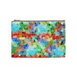 Colorful Mosaic  Cosmetic Bag (Medium)