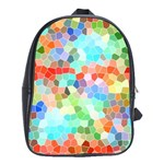 Colorful Mosaic  School Bags(Large)  Front