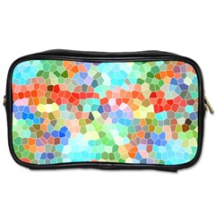 Colorful Mosaic  Toiletries Bags 2 Side by designworld65
