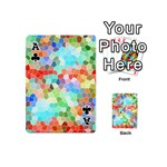 Colorful Mosaic  Playing Cards 54 (Mini)  Front - ClubA