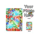 Colorful Mosaic  Playing Cards 54 (Mini)  Front - Joker1