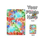 Colorful Mosaic  Playing Cards 54 (Mini)  Front - Joker2
