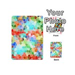 Colorful Mosaic  Playing Cards 54 (Mini)  Back