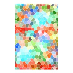 Colorful Mosaic  Shower Curtain 48  X 72  (small)  by designworld65