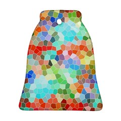 Colorful Mosaic  Ornament (bell)  by designworld65