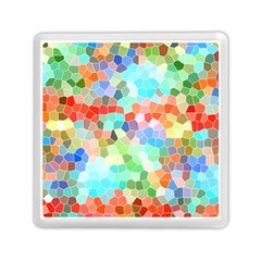 Colorful Mosaic  Memory Card Reader (square)  by designworld65