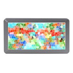Colorful Mosaic  Memory Card Reader (mini) by designworld65