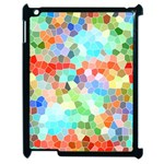 Colorful Mosaic  Apple iPad 2 Case (Black)