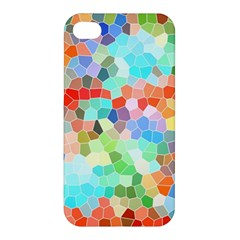 Colorful Mosaic  Apple Iphone 4/4s Hardshell Case by designworld65