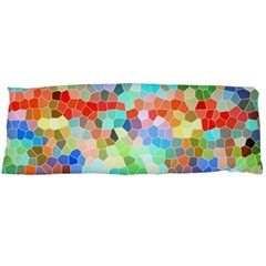Colorful Mosaic  Body Pillow Case (dakimakura) by designworld65