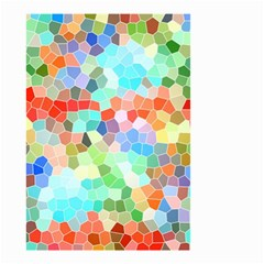 Colorful Mosaic  Small Garden Flag (two Sides) by designworld65