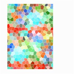 Colorful Mosaic  Large Garden Flag (two Sides) by designworld65