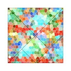 Colorful Mosaic  Acrylic Tangram Puzzle (6  X 6 ) by designworld65