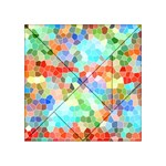 Colorful Mosaic  Acrylic Tangram Puzzle (4  x 4 ) Front