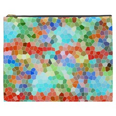 Colorful Mosaic  Cosmetic Bag (xxxl)  by designworld65