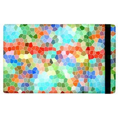 Colorful Mosaic  Apple Ipad 3/4 Flip Case by designworld65