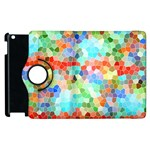 Colorful Mosaic  Apple iPad 3/4 Flip 360 Case