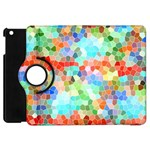 Colorful Mosaic  Apple iPad Mini Flip 360 Case