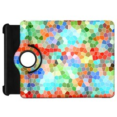 Colorful Mosaic  Kindle Fire Hd Flip 360 Case
